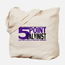 Five Point Calvinist - Tote Bag