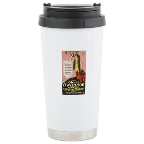 The Great Moment Stainless Steel Travel Mug