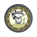 Raccoon Wall Clocks