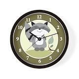 Raccoon Wall Clocks