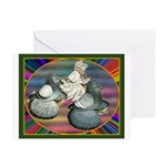 Trumpeters Three Greeting Cards (Pk of 10)