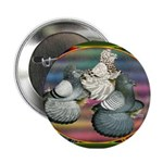 """Trumpeters Three 2.25"""" Button"""