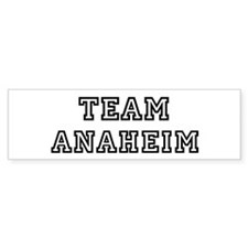 Team Anaheim Bumper Bumper Sticker