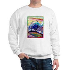Buffalo, bright, Sweatshirt