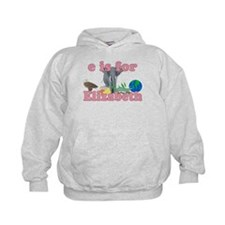 E is for Elizabeth Hoodie