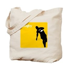 iRugby Yellow Rugby Game Shirt Tote Bag
