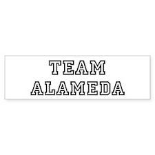 Team Alameda Bumper Bumper Sticker
