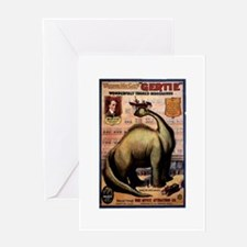 Gertie The Dinosaur Greeting Card