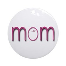 IVF Mom - Mother's Day Ornament (Round)