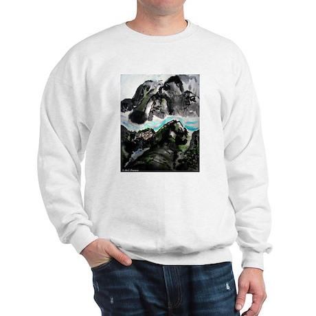 Chinese, Landscape, Sweatshirt