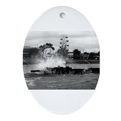Pontchartrain Beach 1941 Ornament (Oval)