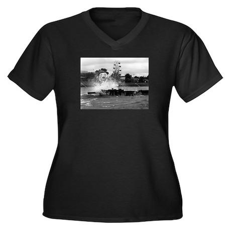 Pontchartrain Beach 1941 Women's Plus Size V-Neck