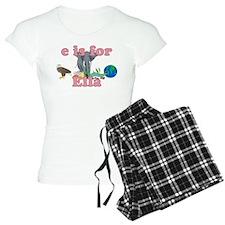 E is for Ella Pajamas