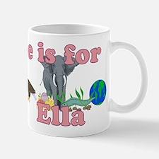 E is for Ella Mug