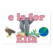 E is for Ella Postcards (Package of 8)