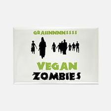 Vegan Zombies Rectangle Magnet