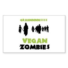 Vegan Zombies Decal