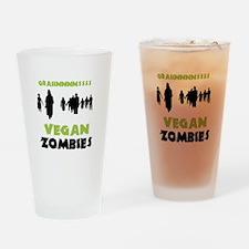 Vegan Zombies Pint Glass