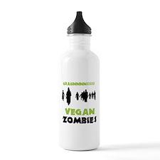 Vegan Zombies Water Bottle