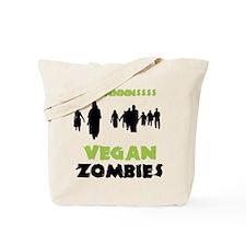 Vegan Zombies Tote Bag