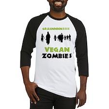 Vegan Zombies Baseball Jersey