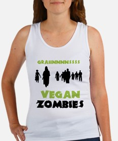 Vegan Zombies Women's Tank Top