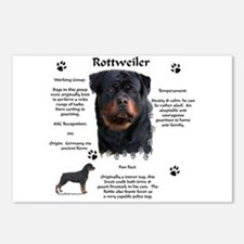 Rottie 1 Postcards (Package of 8)