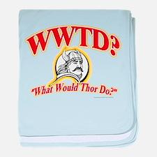 WWTD? baby blanket