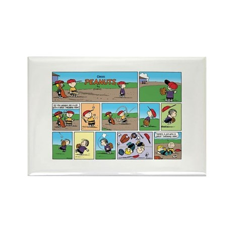 Great Throwing Arm Rectangle Magnet