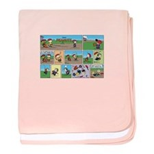 Great Throwing Arm baby blanket