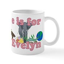 E is for Evelyn Mug