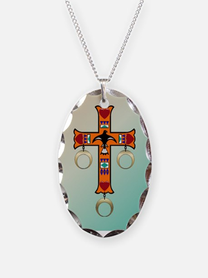 Cherokee Cross Necklace