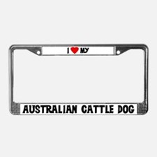 Australian Cattle Dog License Plate Frame