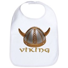 Viking Horns Bib