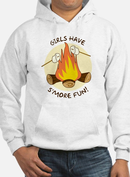 """Girls Have S'more Fun"" Hoodie"