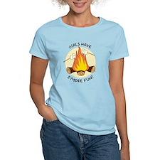 """Girls Have S'more Fun"" T-Shirt"