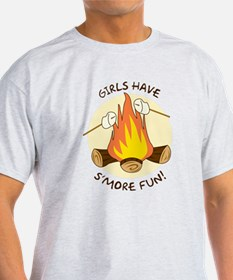 """Girls Have S'more Fun"" T-Shirt"