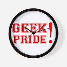 Geek Pride Wall Clock