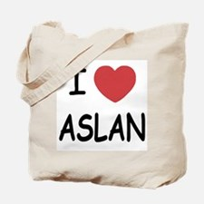 I heart aslan Tote Bag