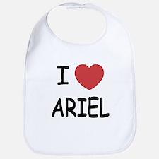 I heart ariel Bib
