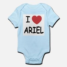 I heart ariel Infant Bodysuit