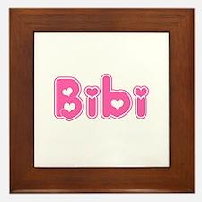 """""""Bibi"""" Framed Tile"""