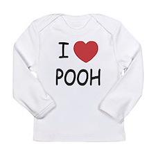 I heart pooh Long Sleeve Infant T-Shirt