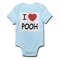 I heart pooh Infant Bodysuit