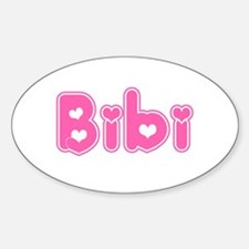 """Bibi"" Oval Decal"