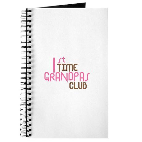1st Time Grandpas Club (Pink) Journal