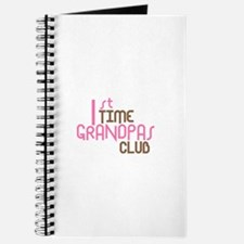 1st Time Grandpas Club (Pink) Journal
