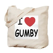 I heart gumby Tote Bag