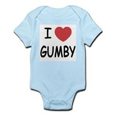 I heart gumby Infant Bodysuit