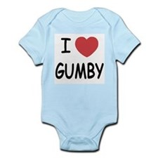 I heart gumby Onesie